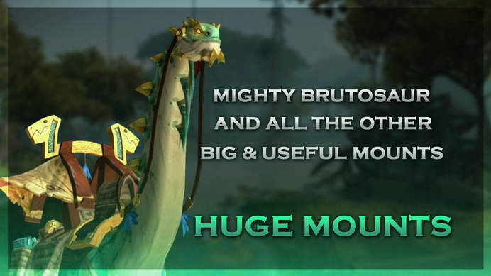 [Guide] What are the 10 most useful mounts in WoW?